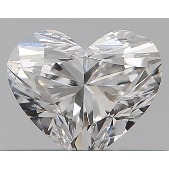 0.30 Carat Heart Loose Diamond, E, VS2, Ideal, GIA Certified