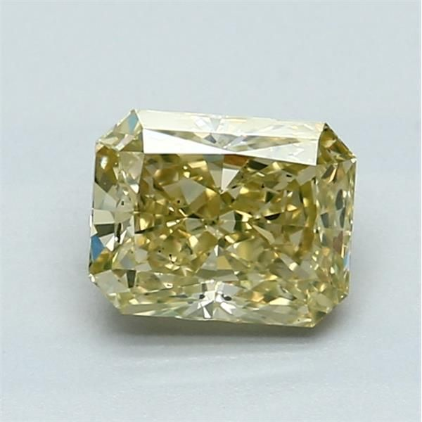 1.02 Carat Radiant Loose Diamond, FY FY, SI1, Excellent, GIA Certified