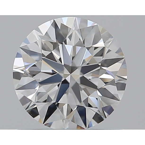 0.66 Carat Round Loose Diamond, F, IF, Super Ideal, GIA Certified