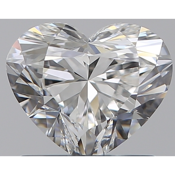 0.82 Carat Heart Loose Diamond, G, VS1, Super Ideal, GIA Certified