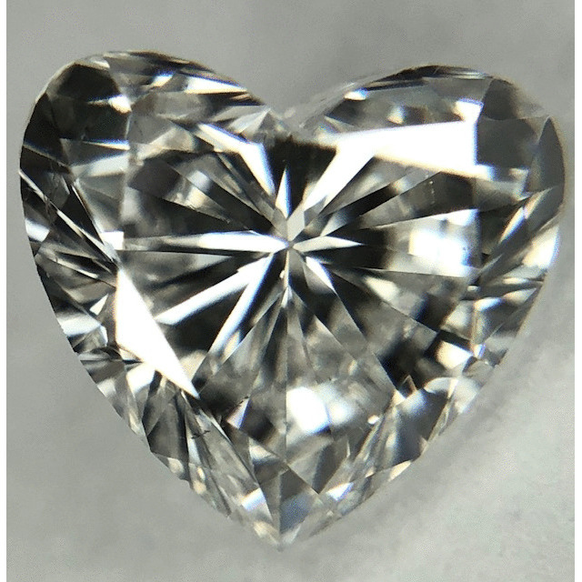 0.95 Carat Heart Loose Diamond, G, SI1, Excellent, GIA Certified