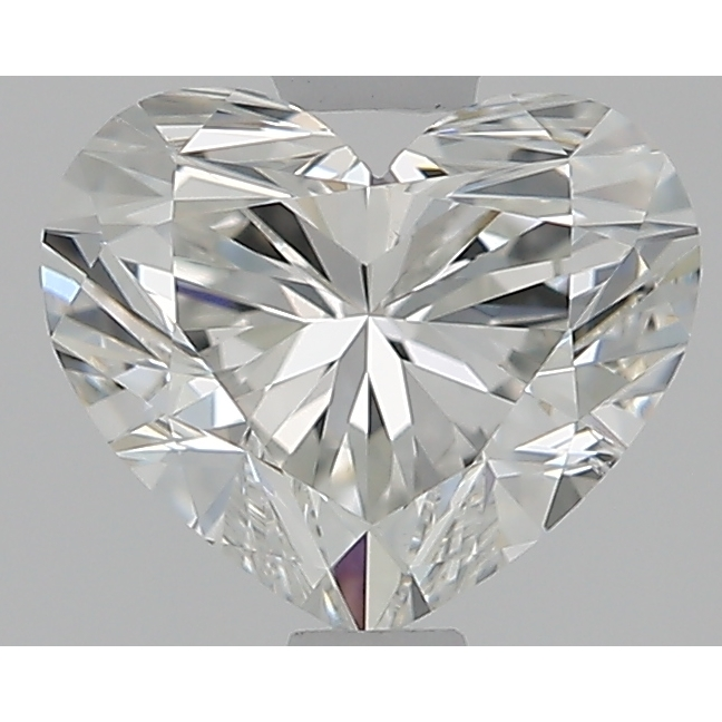 1.02 Carat Heart Loose Diamond, H, SI2, Super Ideal, GIA Certified | Thumbnail