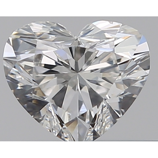 0.30 Carat Heart Loose Diamond, F, VS2, Super Ideal, GIA Certified
