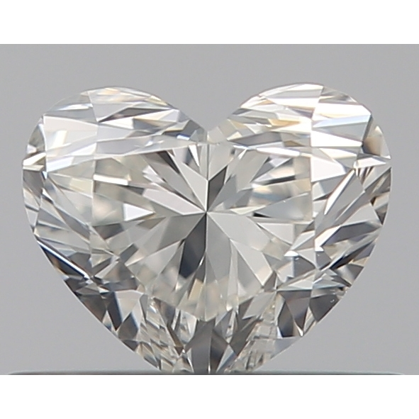 0.36 Carat Heart Loose Diamond, I, VS1, Super Ideal, GIA Certified