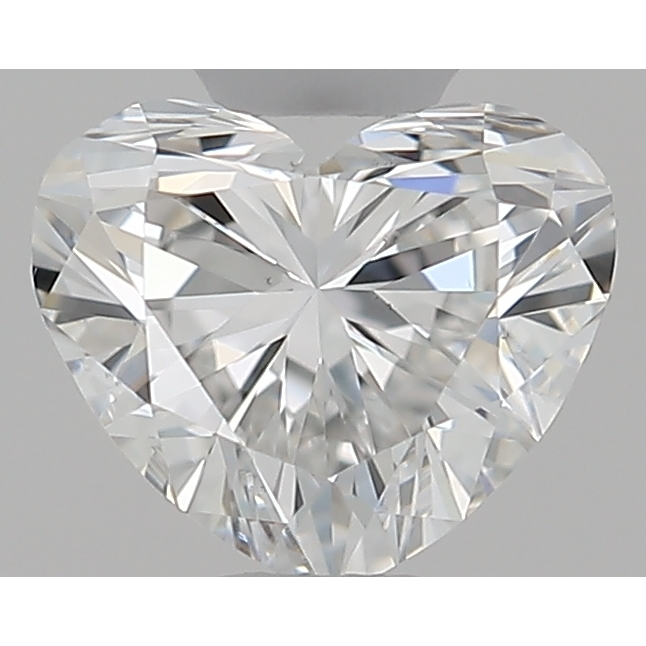 0.30 Carat Heart Loose Diamond, F, VS1, Super Ideal, GIA Certified | Thumbnail