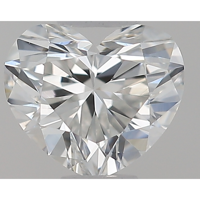 0.32 Carat Heart Loose Diamond, G, VS2, Ideal, GIA Certified | Thumbnail