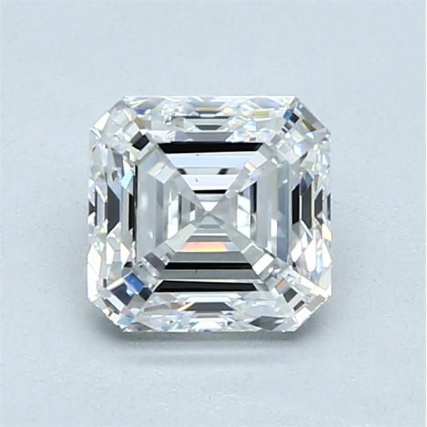 1.20 Carat Asscher Loose Diamond, D, VS1, Ideal, GIA Certified