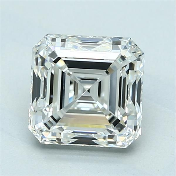 1.90 Carat Asscher Loose Diamond, I, VVS2, Ideal, GIA Certified