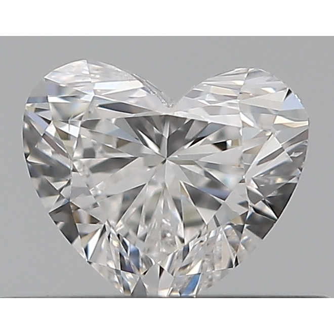 0.30 Carat Heart Loose Diamond, F, SI2, Super Ideal, GIA Certified | Thumbnail