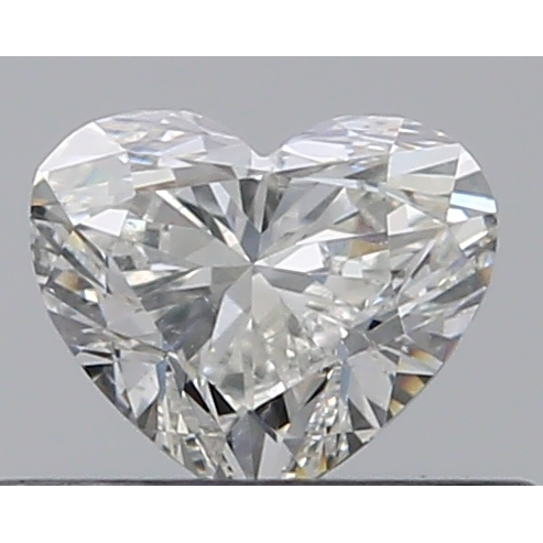 0.30 Carat Heart Loose Diamond, J, SI1, Excellent, GIA Certified