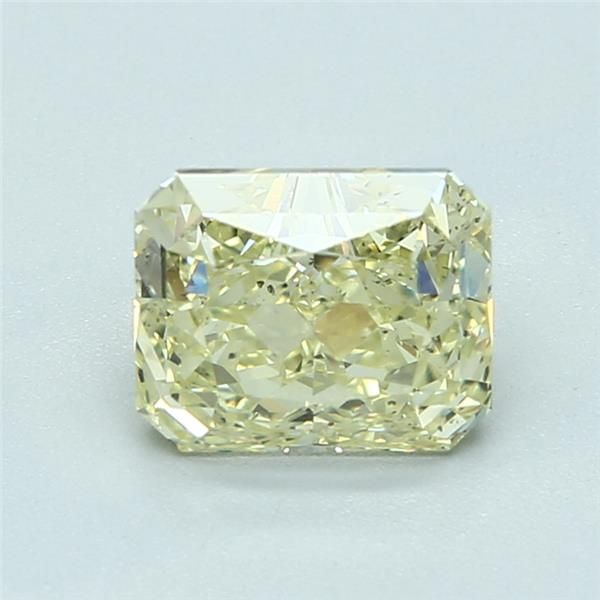 1.91 Carat Radiant Loose Diamond, FY FY, SI1, Excellent, GIA Certified