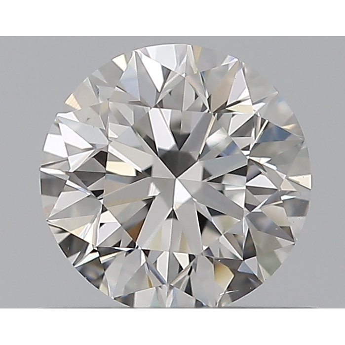 0.50 Carat Round Loose Diamond, G, VS2, Excellent, GIA Certified