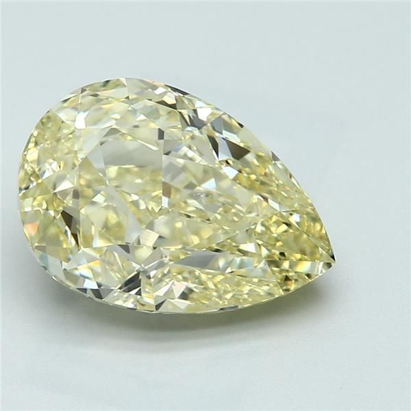 5.08 Carat Pear Loose Diamond, FY FY, SI1, Ideal, GIA Certified