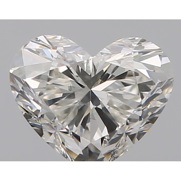 0.30 Carat Heart Loose Diamond, I, SI1, Excellent, GIA Certified