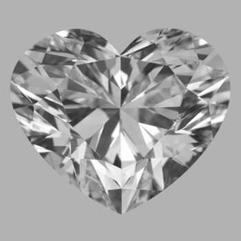4.01 Carat Heart Loose Diamond, E, VS1, Super Ideal, GIA Certified