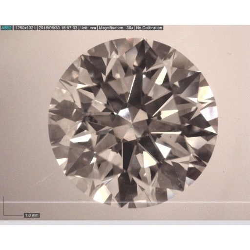 1.51 Carat Round Loose Diamond, H, VS2, Super Ideal, GIA Certified