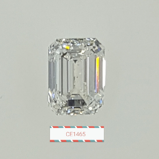 0.91 Carat Emerald Loose Diamond, G, SI1, Ideal, GIA Certified