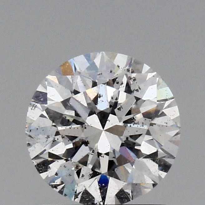 1.00 Carat Round Loose Diamond, E, SI2, Super Ideal, GIA Certified