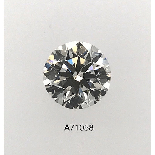1.07 Carat Round Loose Diamond, I, SI2, Ideal, GIA Certified