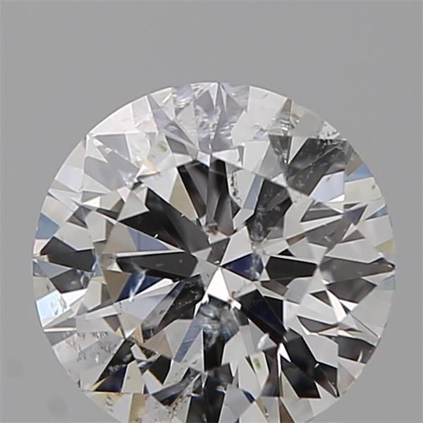 1.00 Carat Round Loose Diamond, F, I1, Excellent, GIA Certified