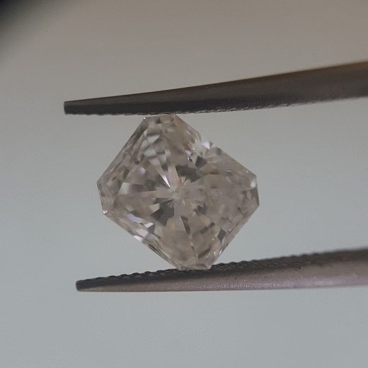 1.01 Carat Radiant Loose Diamond, F, SI2, Very Good, GIA Certified