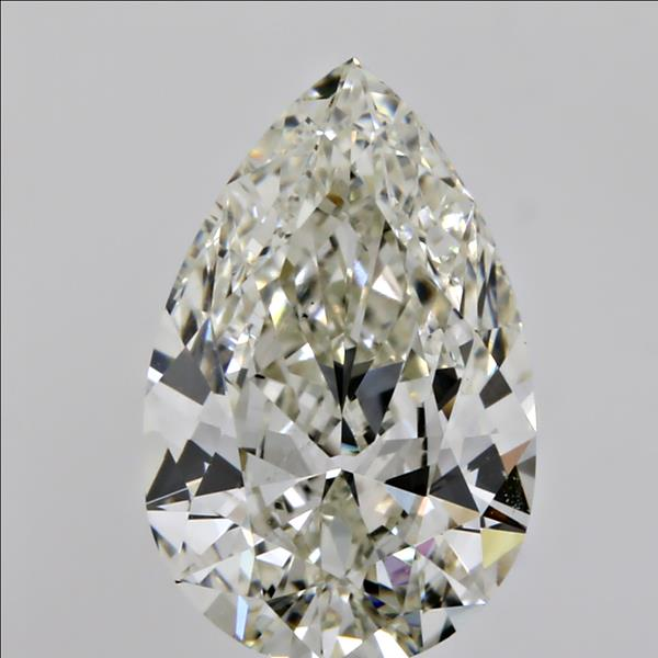 1.17 Carat Pear Loose Diamond, L, VS2, Ideal, GIA Certified