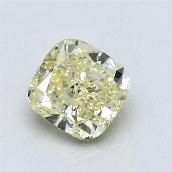 1.03 Carat Cushion Loose Diamond, FY FY, SI2, Ideal, GIA Certified