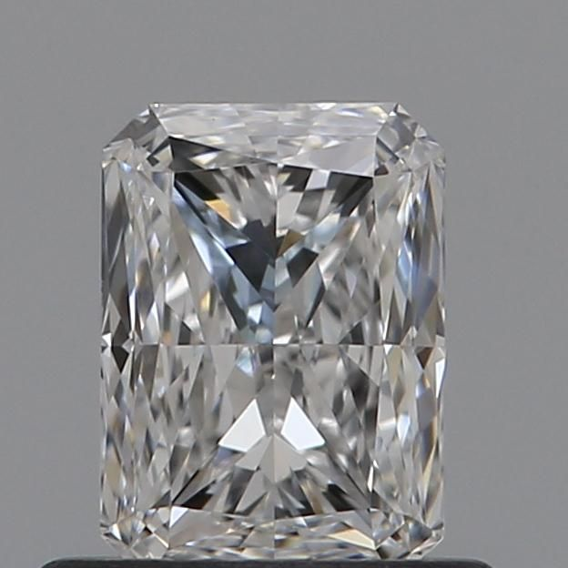 0.61 Carat Radiant Loose Diamond, D, VVS1, Excellent, GIA Certified