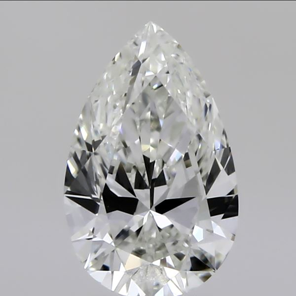 0.51 Carat Pear Loose Diamond, I, VS1, Ideal, GIA Certified