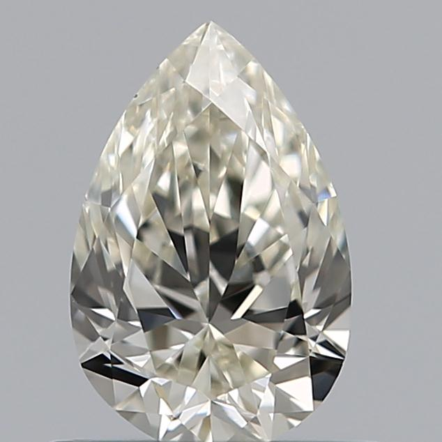 0.56 Carat Pear Loose Diamond, J, VS1, Super Ideal, GIA Certified