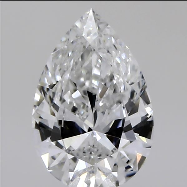 0.32 Carat Pear Loose Diamond, E, VVS2, Super Ideal, GIA Certified | Thumbnail