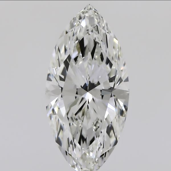 0.51 Carat Marquise Loose Diamond, I, VVS1, Ideal, GIA Certified