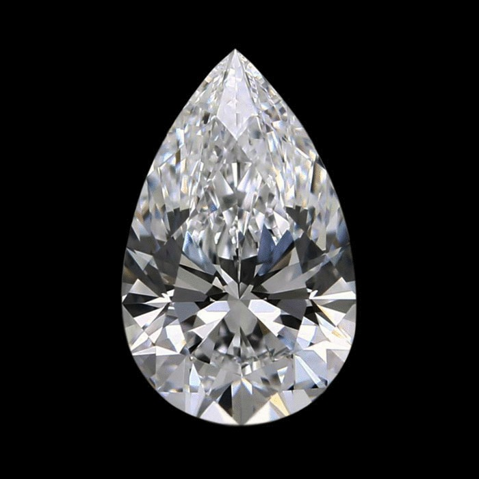 1.27 Carat Pear Loose Diamond, D, VS1, Super Ideal, GIA Certified