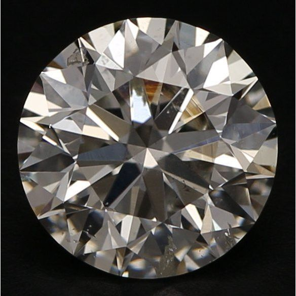 1.01 Carat Round Loose Diamond, I, SI2, Super Ideal, GIA Certified