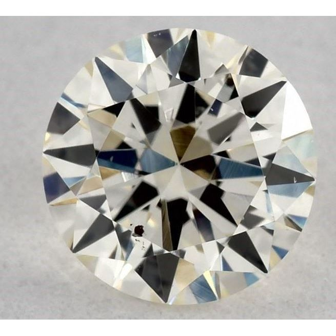 0.50 Carat Round Loose Diamond, N, SI1, Very Good, GIA Certified