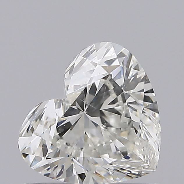 0.71 Carat Heart Loose Diamond, I, SI2, Super Ideal, GIA Certified