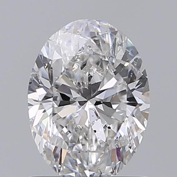1.00 Carat Oval Loose Diamond, D, SI1, Super Ideal, GIA Certified | Thumbnail