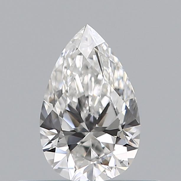 0.32 Carat Pear Loose Diamond, E, VS2, Ideal, GIA Certified