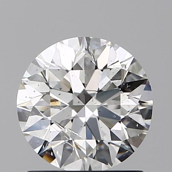 1.01 Carat Round Loose Diamond, G, SI2, Super Ideal, GIA Certified