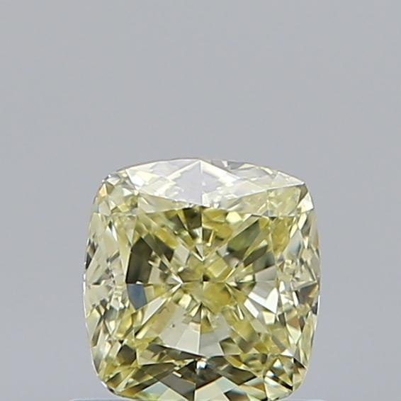 0.71 Carat Cushion Loose Diamond, FANCY, SI1, Excellent, GIA Certified