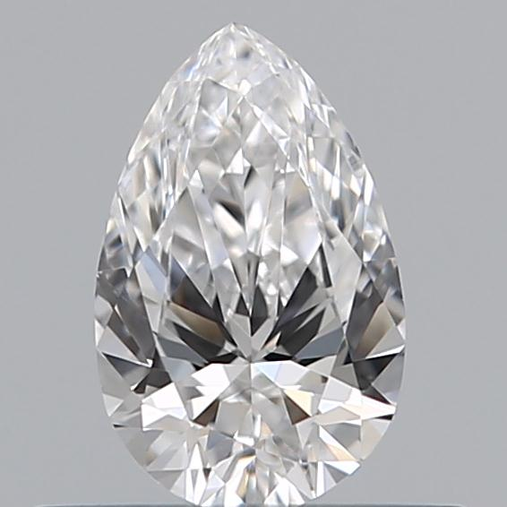 0.34 Carat Pear Loose Diamond, D, VVS1, Ideal, GIA Certified | Thumbnail