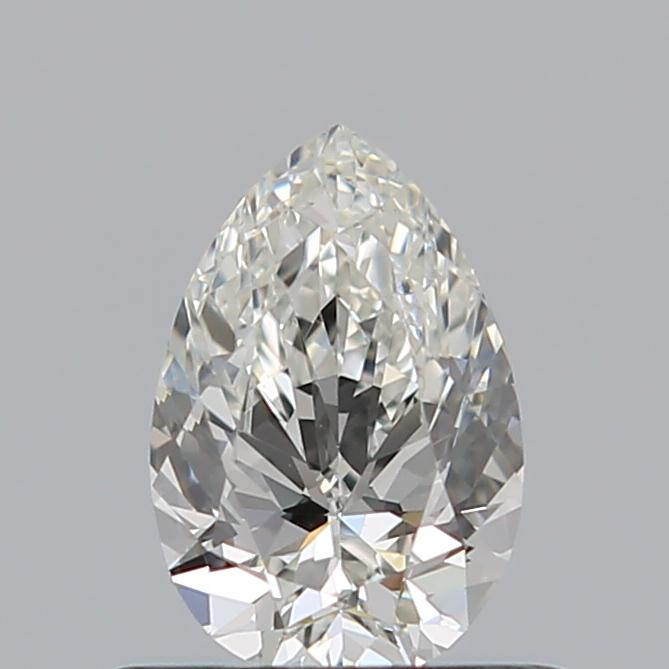 0.51 Carat Pear Loose Diamond, I, VS2, Ideal, GIA Certified