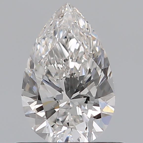 0.50 Carat Pear Loose Diamond, G, VS2, Super Ideal, GIA Certified