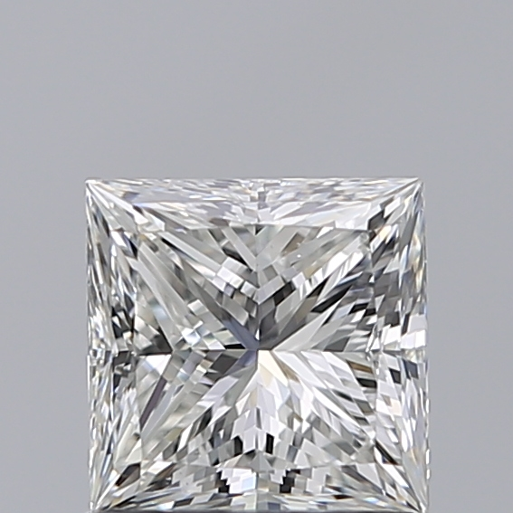 1.00 Carat Princess Loose Diamond, H, VS1, Ideal, GIA Certified