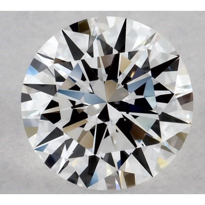 0.50 Carat Round Loose Diamond, D, VS1, Ideal, GIA Certified