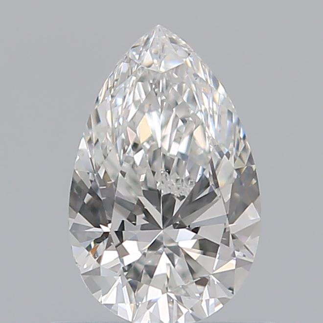 0.59 Carat Pear Loose Diamond, F, VS2, Super Ideal, GIA Certified | Thumbnail
