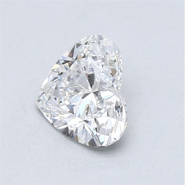 0.90 Carat Heart Loose Diamond, D, IF, Ideal, GIA Certified