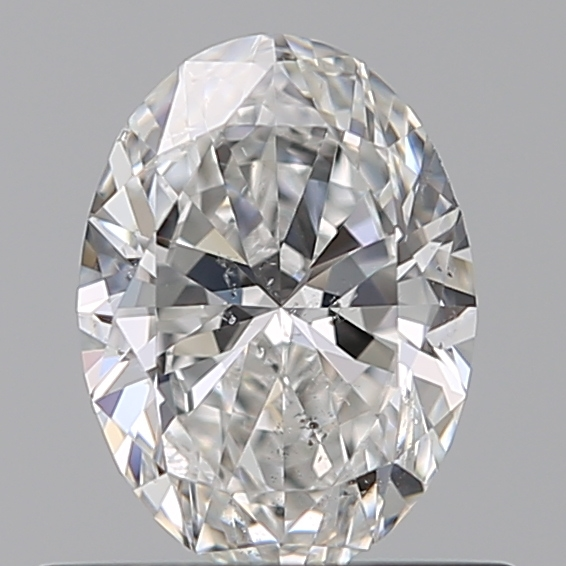 0.50 Carat Oval Loose Diamond, F, SI1, Ideal, GIA Certified