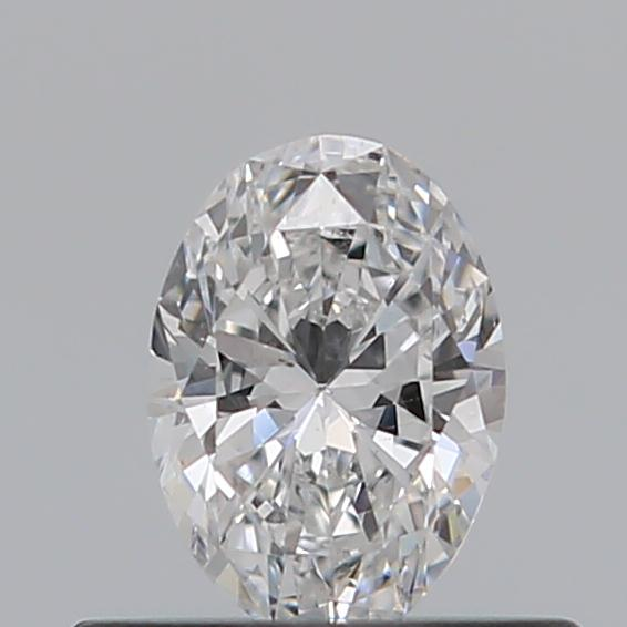 0.31 Carat Oval Loose Diamond, D, SI1, Ideal, GIA Certified