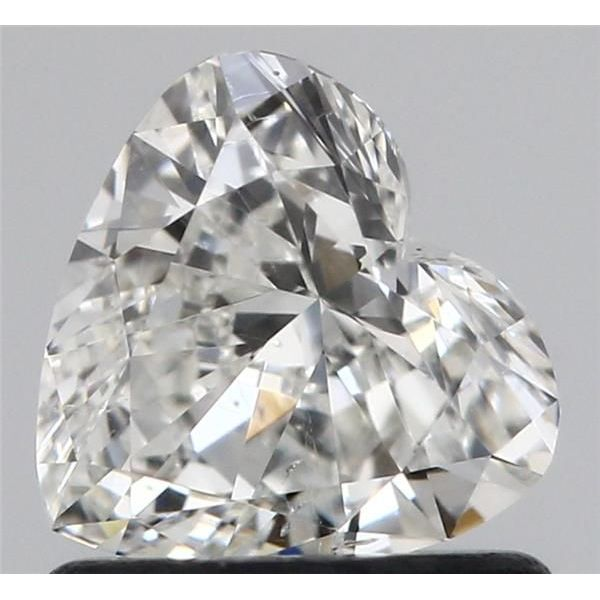 0.70 Carat Heart Loose Diamond, I, SI1, Excellent, GIA Certified